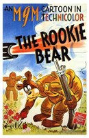 "The Rookie Bear - 11"" x 17"" - $15.49"