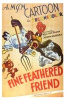 "Fine Feathered Friend - 11"" x 17"" - $15.49"