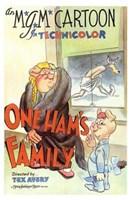 """One Ham's Family - 11"""" x 17"""" - $15.49"""