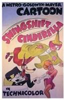 "Swingshift Cinderella - 11"" x 17"", FulcrumGallery.com brand"