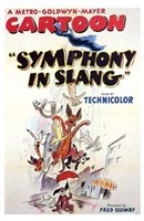 "Symphony in Slang - 11"" x 17"" - $15.49"