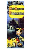 Pinocchio Tall Wall Poster