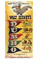 Dumbo D-U-M-B-O Wall Poster