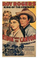 "Ridin' Down the Canyon - 11"" x 17"", FulcrumGallery.com brand"