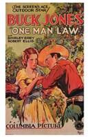 """One Man Law Shirley Grey - 11"""" x 17"""""""