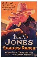 """Shadow Ranch Buck jones - 11"""" x 17"""""""