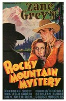 Rocky Mountain Mystery Wall Poster