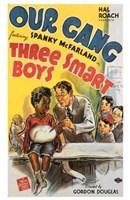 "Three Smart Boys - 11"" x 17"", FulcrumGallery.com brand"