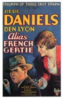 """Alias French Gertie - 11"""" x 17"""" - $15.49"""