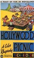 """Hollywood Picnic - 11"""" x 17"""""""