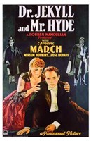 """Dr Jekyll and Mr Hyde Fredric March - 11"""" x 17"""" - $15.49"""