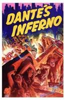 "Dante's Inferno - red - 11"" x 17"""