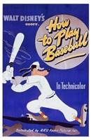 "How to Play Baseball - 11"" x 17"""