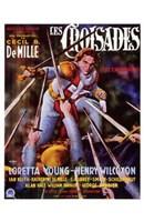 "The Crusades Henry Wilcoxon - 11"" x 17"""