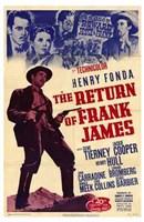 "The Return of Frank James - 11"" x 17"""