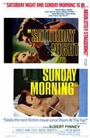 """Saturday Night and Sunday Morning - 11"""" x 17"""""""