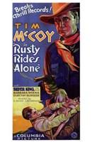 "Rusty Rides Alone - 11"" x 17"""