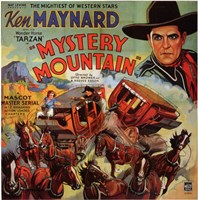 "Mystery Mountain - square - 11"" x 17"", FulcrumGallery.com brand"