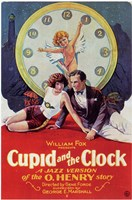 "Cupid and the Clock - 11"" x 17"""