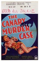 "The Canary Murder Case With Louise Brooks - 11"" x 17"" - $15.49"