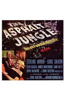 "Asphalt Jungle - style B, 1950, 1950 - 11"" x 17"""