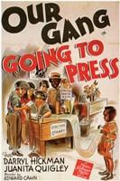 "Going to Press - 11"" x 17"", FulcrumGallery.com brand"