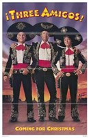 "The Three Amigos (movie poster) - 11"" x 17"""