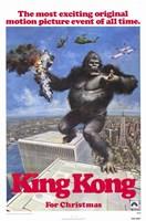 """King Kong for Christmas - 11"""" x 17"""" - $15.49"""