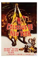 The Colossus of New York Wall Poster