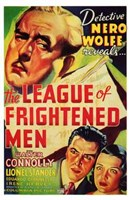 """The League of Frightened Men - 11"""" x 17"""""""