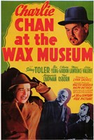 "Charlie Chan At the Wax Museum - 11"" x 17"""