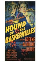 """The Hound of the Baskervilles Sherlock - 11"""" x 17"""", FulcrumGallery.com brand"""