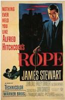 """Rope - James Stewart - 11"""" x 17"""""""