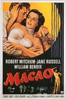 """Macao Jane Russell - 11"""" x 17"""""""