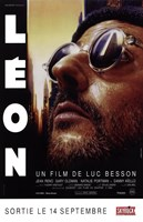 """The Professional Leon (french) - 11"""" x 17"""""""