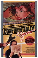 """Confidentially Yours (Vivement Dimanche! - 11"""" x 17"""""""