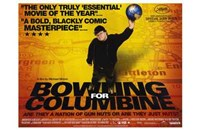 """Bowling for Columbine Michael Moore - 17"""" x 11"""""""