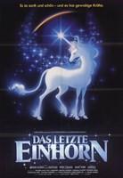 "Last Unicorn - German - 11"" x 17"""