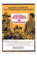 """The Undefeated - movie poster - 11"""" x 17"""""""