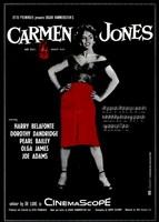 "Carmen Jones - black - 11"" x 17"" - $15.49"