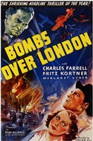 """Bombs Over London - 11"""" x 17"""""""