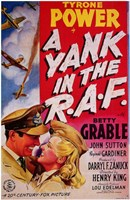 """Yank in the Raf - movie cover - 11"""" x 17"""""""