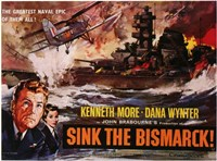 """Sink the Bismark - 17"""" x 11"""""""
