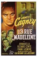 """13 Rue Madeleine - 11"""" x 17"""", FulcrumGallery.com brand"""