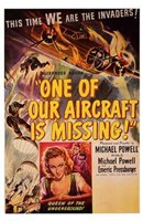 """One of Our Aircraft is Missing - 11"""" x 17"""""""