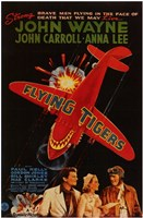 Flying Tigers Wall Poster