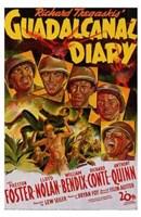 "Guadalcanal Diary - 11"" x 17"""