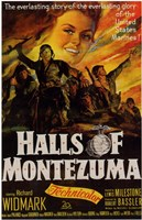 "Halls of Montezuma - 11"" x 17"""