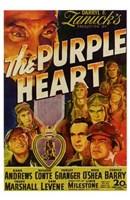 "The Purple Heart - 11"" x 17"", FulcrumGallery.com brand"