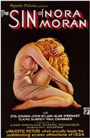 """Sin of Nora Moran - 11"""" x 17"""""""